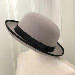 Boohoo Gray Bowler Hat